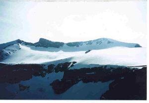 Surtningssui 2368 moh på ski